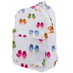 Pattern Birds Cute Classic Backpack