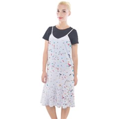 Ribbon Polka Camis Fishtail Dress by Mariart