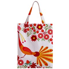 Peacock Pattern Classic Tote Bag