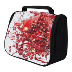 Red Pomegranate Fried Fruit Juice Full Print Travel Pouch (small) by Mariart
