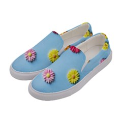 Daisy Women s Canvas Slip Ons by WensdaiAddamns