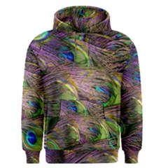 Peacock Feathers Men s Pullover Hoodie