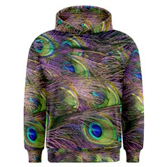 Peacock Feathers Men s Overhead Hoodie