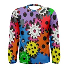 The Gears Are Turning Men s Long Sleeve Tee