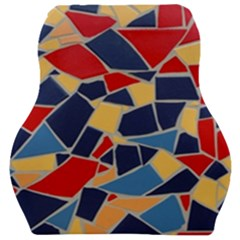 Pattern Tile Wall Background Car Seat Velour Cushion