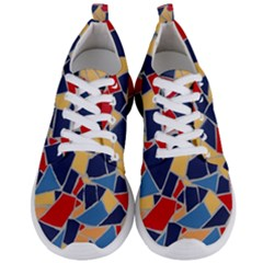 Pattern Tile Wall Background Men s Lightweight Sports Shoes