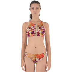 Fractal Mandelbrot Art Wallpaper Perfectly Cut Out Bikini Set