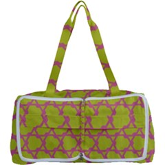 Pattern Background Structure Pink Multi Function Bag