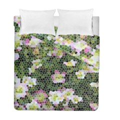 Mosaic Structure Pattern Background Duvet Cover Double Side (full/ Double Size)