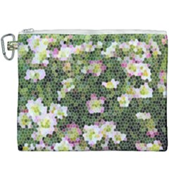 Mosaic Structure Pattern Background Canvas Cosmetic Bag (xxxl)