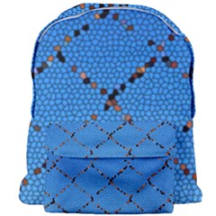 Pattern Structure Background Blue Giant Full Print Backpack