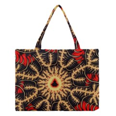 Fractal Julia Mandelbrot Art Medium Tote Bag