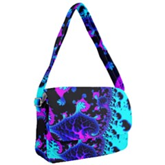 Fractal Pattern Spiral Abstract Courier Bag