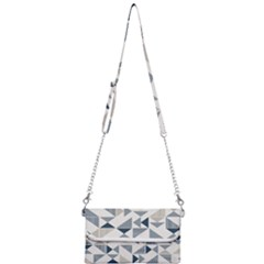 Geometric Triangle Modern Mosaic Mini Crossbody Handbag