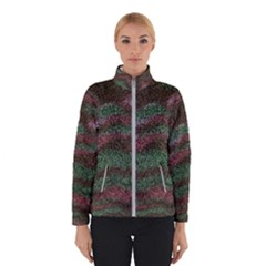 Pattern Structure Background Lines Winter Jacket
