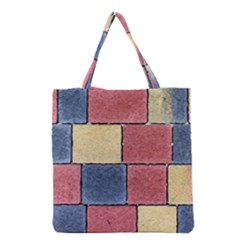 Model Mosaic Wallpaper Texture Grocery Tote Bag