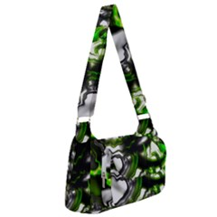 Fractal Green Trumpet Trump Post Office Delivery Bag by Pakrebo