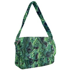 Green Pattern Background Abstract Courier Bag