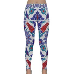 Art Artistic Ceramic Colorful Classic Yoga Leggings by Pakrebo