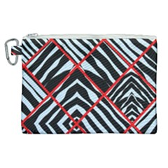 Model Abstract Texture Geometric Canvas Cosmetic Bag (xl)