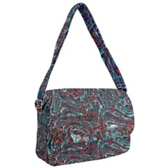 Pattern Structure Background Facade Courier Bag