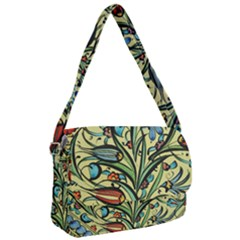 Mosaic Tile Art Ceramic Colorful Courier Bag