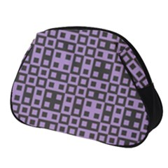 Crocus Petal Blocks  Full Print Accessory Pouch (small) by TimelessFashion