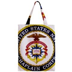 Seal Of United States Navy Chaplain Corps Zipper Classic Tote Bag