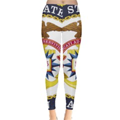 Seal Of United States Navy Chaplain Corps Leggings