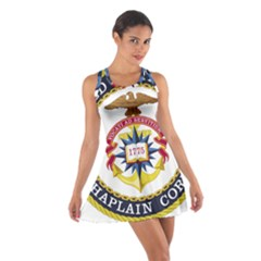 Seal Of United States Navy Chaplain Corps Cotton Racerback Dress