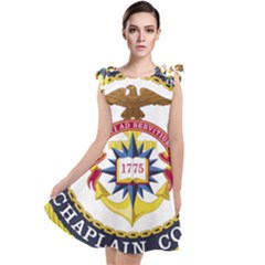 Seal Of United States Navy Chaplain Corps Tie Up Tunic Dress by abbeyz71