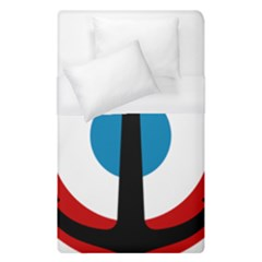 Roundel Of French Naval Aviation Duvet Cover (single Size)