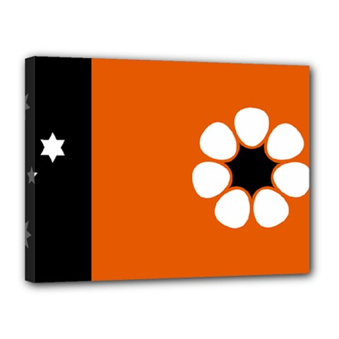 Flag Of Northern Territory Canvas 16  X 12  (stretched)