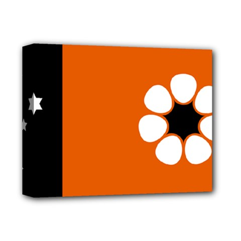 Flag Of Northern Territory Deluxe Canvas 14  X 11  (stretched)