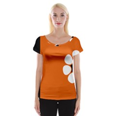 Flag Of Northern Territory Cap Sleeve Top