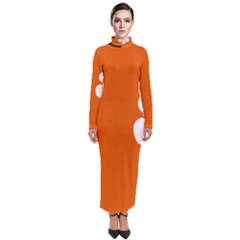 Flag Of Northern Territory Turtleneck Maxi Dress