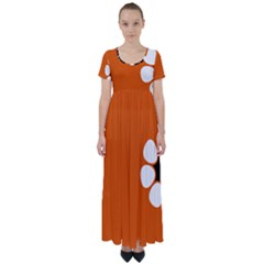 Flag Of Northern Territory High Waist Short Sleeve Maxi Dress