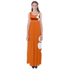 Flag Of Northern Territory Empire Waist Maxi Dress