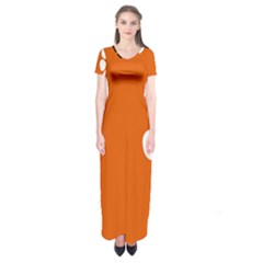 Flag Of Northern Territory Short Sleeve Maxi Dress