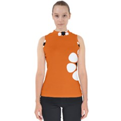 Flag Of Northern Territory Mock Neck Shell Top
