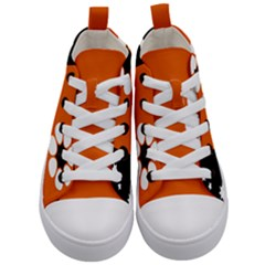 Flag Of Northern Territory Kids  Mid Top Canvas Sneakers
