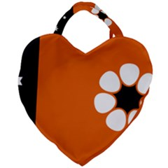 Flag Of Northern Territory Giant Heart Shaped Tote