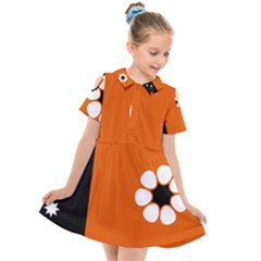 Flag Of Northern Territory Kids  Short Sleeve Shirt Dress by abbeyz71