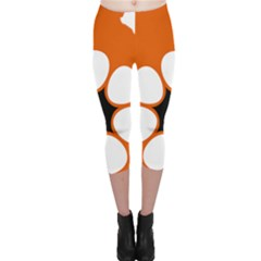 Flag Map Of Northern Territory Capri Leggings