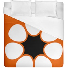 Flag Map Of Northern Territory Duvet Cover (king Size)