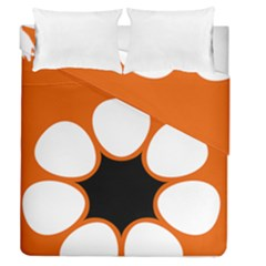 Flag Map Of Northern Territory Duvet Cover Double Side (queen Size)