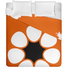 Flag Map Of Northern Territory Duvet Cover Double Side (california King Size)