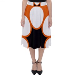 Flag Map Of Northern Territory Classic Midi Skirt