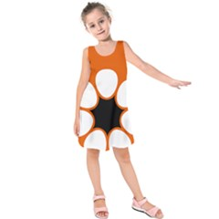 Flag Map Of Northern Territory Kids  Sleeveless Dress