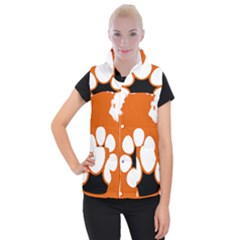 Flag Map Of Northern Territory Women s Button Up Vest